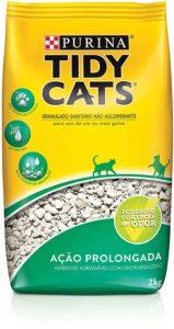 Areia Higiênica Purina Tidy Cats 2kg