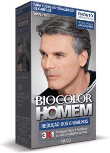 Biocolor Homem Redução De Grisalhos