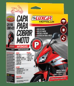 Capa para Cobrir Moto da Luxcar