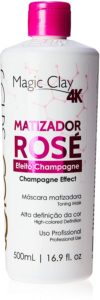Magic Clay 4K Matizador Rosé Efeito Champagne, Felps Professional