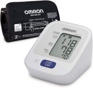 Monitor de Pressão Arterial de Braço Control+ Hem-7122, Omron