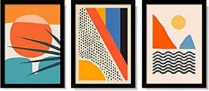 Quadros Abstrato Moderno Tropical Decoração
