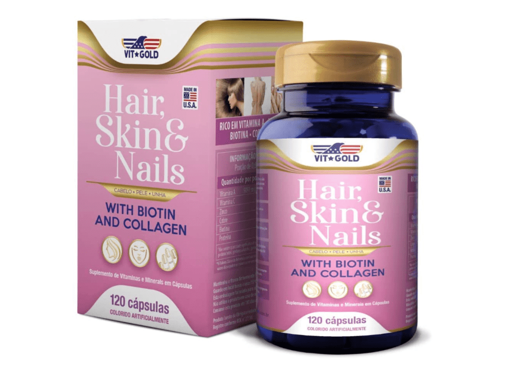 Vitgold Vitamins Hair Skin & Nails
