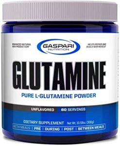 Glutamine Pure-L Powder 300g Gaspari Nutrition