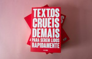 Textos cruéis demais para serem lidos rapidamente – Melhor Livro Para Jovens De Poesia Nacional (Igor Pires da Silva)