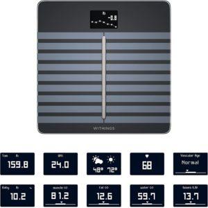 Withings Nokia Balança Digital Body Cardio com Wi-fi para Bioimpedância Preto