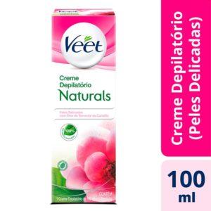 Creme Depilatório Naturals Camélia Veet