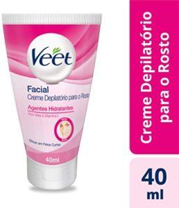 Depilatório Creme 40 ml Facial Unit Veet