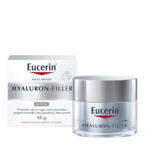 Creme Antirrugas Eucerin Hyaluron Filler Noite
