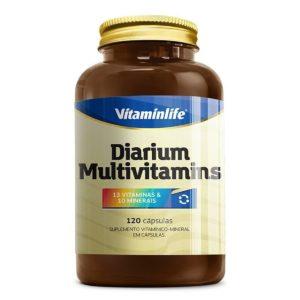 Diarium Multivitamínico VitaminLife 120 Cápsulas