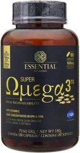Super Ômega 3 Tg 1000 Mg 180 Cápsulas Essential Nutrition