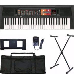 Teclado Musical Yamaha PSR-F51 + Suporte + Capa