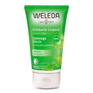 Esfoliante Cremoso de Bétula Weleda Verde
