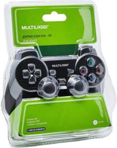 Joystick Dual Shock Para PC Multilaser JS030