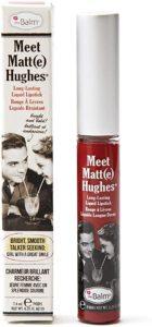Meet Matt(e) Hughes Loyal The Balm Cosmetics Vermelho Tijolo
