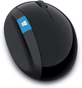 Mouse Ergonômico Sem Fio USB Preto L6V00009