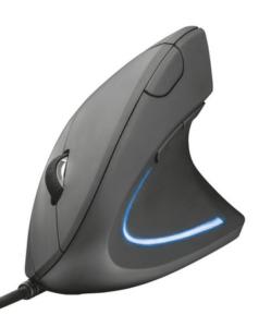 Mouse LED Ergonômico 1600dpi 6 Botões
