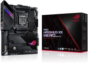 Placa Mãe Asus Intel LGA 1200 ROG Maximus XII Hero (Wi-Fi) ATX DDR4