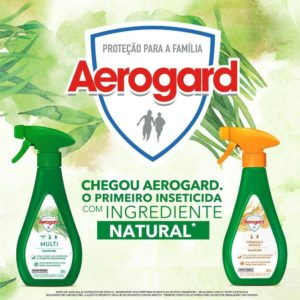Spray para Baratas e Formigas Aerogard